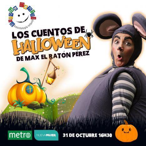 Evento On Line: Cuentos de Halloween del Ratón Max Pérez