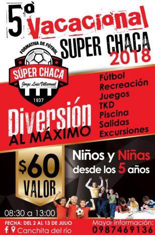 El mejor vacacional de fútbol en el Valle de los Chillos
